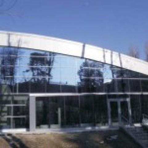 Structura metalica bazin de inot