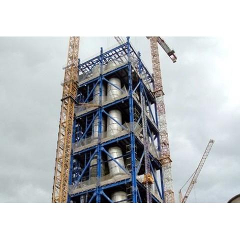 Structura Metalica – Fabrica de ciment Italia