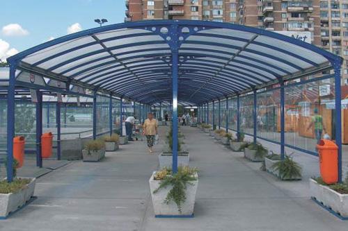Pasarela Protectie Hipermarket Cora - Sector 6