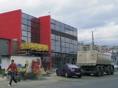 Structuri Metalice - Hipermarket Cringasi