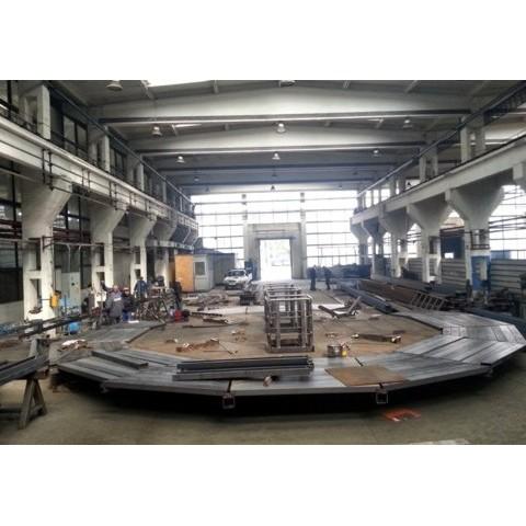 Platforma mobila – Pirson Refractories – Italia